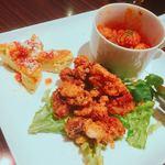 ITALIAN×SPANISH グラニタ - 3点盛な料理