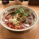 78204973 - 担担麺(汁あり)辛さ増し                       ¥820+¥100:計  ¥920