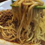 麺や金時 - モチモチの太麺