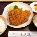 78205809 - ロースカツ定食 ¥1,050