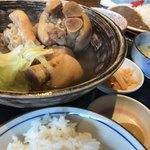 中村商店 - てびち煮付定食 ¥800