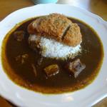 .CAFE - 料理写真:「カツカレー」810円(税込)