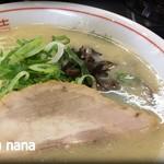 騎竜 - 料理写真:豚骨(二八割)650円+大盛り100円