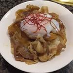 焼にく 和牛食堂 - トロ玉豚丼