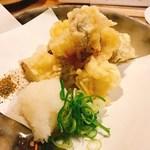 酒・肴 タナゴコロ - さんまの天ぷら(別メニュー)