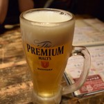 楽味家まるげん - 生ビール