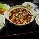 食彩ガーデン - 麻婆豆腐定食