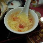 食彩ガーデン - 玉子スープ