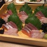 zensekikoshitsusenyaichiya - 【お造り】海の幸 4点盛り合わせ