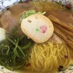 新函館ラーメン きらら - 料理写真:しおラーメン・大盛り(720円)