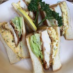 sandwich CLUB HOUSE - 料理写真: