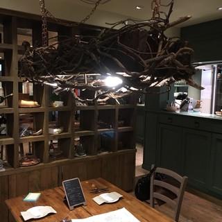 ティスカリ - 人気の半個室!これぞ究極の食卓