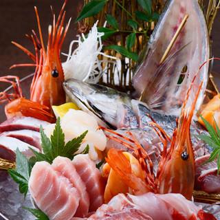 ★朝獲れ鮮魚を使用した絶品料理★