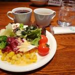 カプリチョーザ ピッツァ&ビュッフェ - 1100円ランチ(税込み1188円)