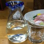浜慶 - 田酒860円(税別)