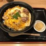 78217123 - 黄身の色が濃い親子丼です!