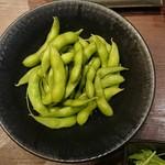 全席個室 楽蔵うたげ - 塩茹で枝豆