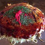 お好みハウスのんのん - 料理写真:2017.11.16  広島焼き ミックス焼き そば入り