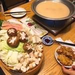 ふくのかみ - 料理写真:コースの水炊き