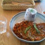 つむじカフェ - 雑穀米のキーマカレー 650円