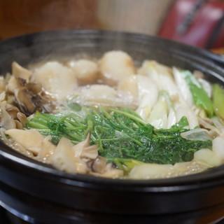 昔のきりたんぽや - 料理写真:きりたんぽ鍋(1人前2000円)(2017/11)