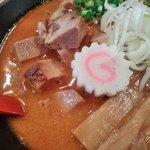 麺極 はなみち - 激辛味噌(レベル2・アップ)