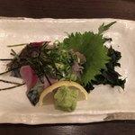 石蔵 - 2017年12月17日  ごまさば(タレ別皿で) 780円