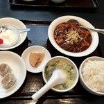 鳳凰閣 - 麻婆豆腐ランチ  900円