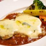 イタリア食堂 MARIA - 【冬限定】豚ロース肉のピッツァ職人風