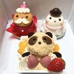 シャトレーゼ - 今回買った可愛いケーキたち