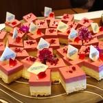 横浜モノリス - ベリームース@横浜モノリスのロゴ入りチョコレートつき
