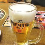 焼肉のバーンズ - 生ビール