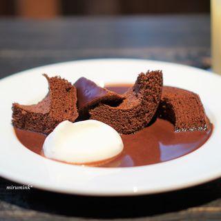 八日市の杜 - 料理写真:デセールショコラバーム