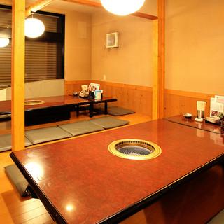 ≪半個室あり≫ゆっくりと食事を楽しむ掘りごたつのお座敷
