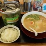 ラーメン横綱 - 味玉ラーメン+白ご飯小