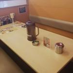 ラーメン横綱 - 店内の雰囲気