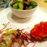 ギオットーネ - セットの前菜