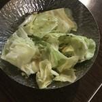 Izakayanomuzu - お通しのキャベツ