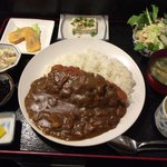 楓 - カツカレー定食