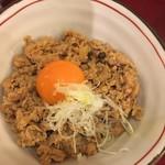 神田 五大 - おすすめセットの鶏そぼろ丼