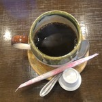 とんかつ 播 - 食後のコーヒー(サービス)