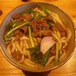 讃岐の男うどん - 肉うどん730円