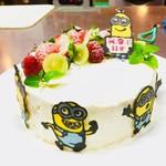 和風ダイニングまんま - 要予約 お誕生日祝いケーキ