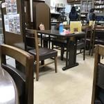 香美園 - 大衆食堂そのまんまの店内風景です(2017.12.20)