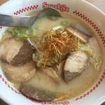 スガキヤ - 豚骨鶏白湯ラーメン