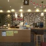 ライフ スタイル カフェM - ライフスタイルカフェ☕✨M 店内厨房付近