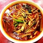 78238321 - 麻辣湯麺(ランチタイムは税込800円で杏仁豆腐も付きます)