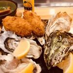 殻○ - 牡蠣盛り