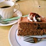おむれった - ソースで食べるオムライスセット「ケーキ」