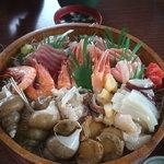 吉川鮮魚店 - 5000円分の盛りです